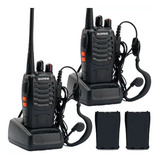 Kit X 2 Handy Walkie Talkie Baofeng Bf-888s 16ch Uhf Handie