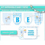 Kit Editable Baby Shower Nene - Deco - Candy Y Photo Booth