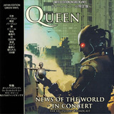 Queen News Of The World In Concert Vinilo Lp Color Nuevo