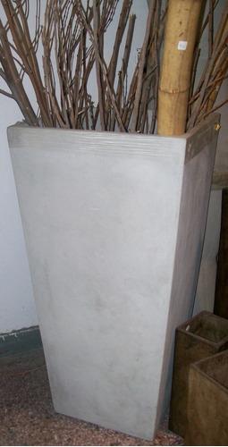 Macetas fibrocemento piramidal 45 alto x 35 boca x 23 base - Macetas fibrocemento ...