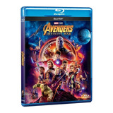 Avengers Infinity War Blu-ray Nuevo Stock Original Importado