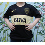Camiseta Boca Negra 2016 Kids Nenes Chicos