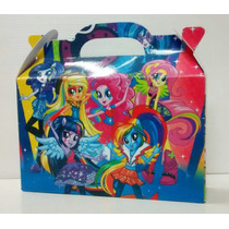 Cajitas Equestria Girls (pack X50)