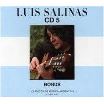 Cd 5 Luis Salinas- Bonus Cd Nuevo Y Cerrado