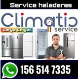 Service Heladera Reparacion Carga Gas Tecnico Whirpool Mabe