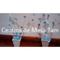 Centros De Mesa Para Bautismo, Cumpleaños, Comunion