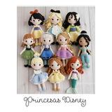 10 Patrones Princesas Crochet Amigurumi