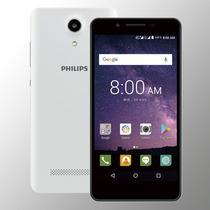 Celular Libre Philips S327 - 5,5  Dual Sim + Funda - Blanco
