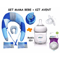 Almohada Amamantar+set+kit Avent Natural¡¡9 Productos