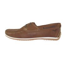 Zapatos Mocasines Nauticos Mariner Cuero Cuotas Sin Interes