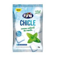 Chiclete Natural Sweets de Menta sem Acucar - 18g - Fini