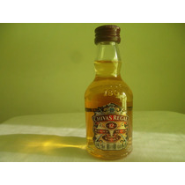 Botellita Miniatura Whisky Chivas Regal 12 Years 50 Ml Llena