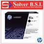 Tóner Hp 81a Negro Para Impresoras Laser Hp M605 M630 Negro