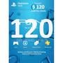Código Psn 120 Dólares Cuenta Usa Garantía Y En Cuotas Fijas