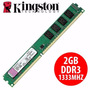Memoria Kingston Ddr3 2gb 1333mhz 10600 Blister Microcentro