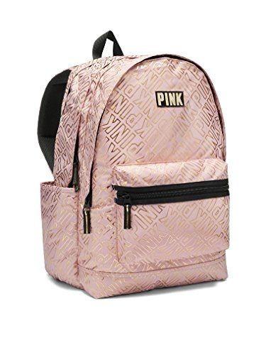Mochila Victoria s Secret Pink Brillos Paillettes 921faa3cb1459