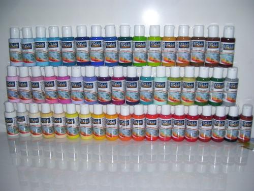 Set 10 Pintura Acrilicas X 50cc Eq Arte-100% Acrilico Linier