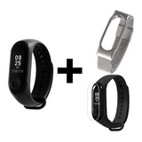 Xiaomi Mi Band 3 Smartwatch Reloj + Malla Metalica Film