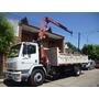 Alquiler Camion Con Grua Hidrogrua Articulada Barquilla