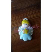 10 Apliques Angelito Porcelana Fria
