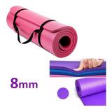 Colchoneta Yoga Pilates Fitness Gym Enrollable