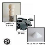 Tapadora Martillo + 50 Tapas + 150g Azúcar De Maíz - Beerman