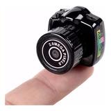 Cámara Fotográfica Mini Replica Camara Nikon Bolsillo Cámara Espia Pequeña Portátil Seguridad Bateria Interna Video Avi