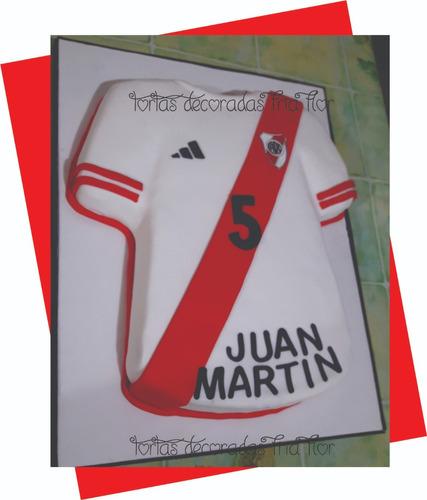 Tortas Decoradas Camiseta De Futbol En Venta En Barracas
