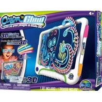 Pizarra Luminosa Color N Glow 3d Con Luces De Neon