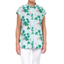 Camisa Mujer Kevingston Sunny Nj Est S/m