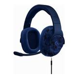 Auriculares Logitech G433 Blue Camo