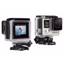 Go Pro Hero 4 Silver Edition Full Hd 1080 4k Gopro Lcd Touch