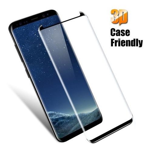 bfe253e1b34 Vidrio Templado Premium Glass Para Samsung S8 Case Friendly