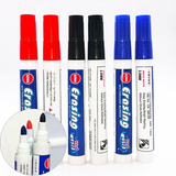 Marcadores Pizarra Blanca X10 Unidades Fibrones Color 2.8mm