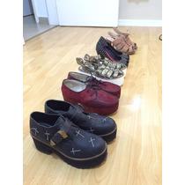 Lote De Zapatos Y Carteras