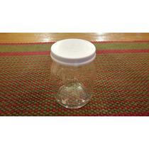 Frascos De Vidrio Yogurth Dahi Con Tapa Plastica
