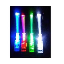 Cotillón Luminoso Dedos Laser Fibra Optica Fiesta X 16