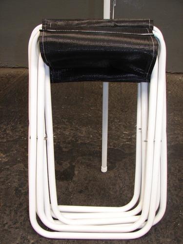 Mesa de camping plegable tipo malet n valija con 4 for Mesa plegable maletin