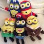 Peluche Muñeco Minion Super Heroes!! (2015) Cantan Banana