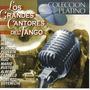 Cd Intérpretes Varios - Los Grandes Cantores Del Tango