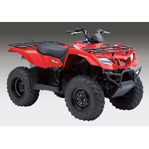 Suzuki Kingquad 400 4x4 Único En Motolandia! 4798-8980