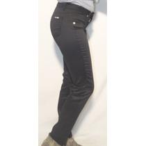 Pantalón De Gabardina Negro, Octanos Oficial - Luxury