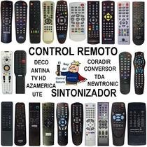 Control Remoto Conversor Sintonizador Tda Tdt Hd Tv Digital