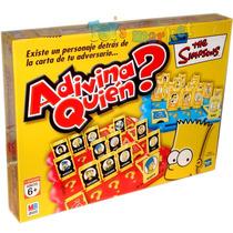 Adivina Quien Simpsons Juego De Mesa Original Hasbro