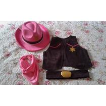 Sheriff Callie Chaleco C/ Sombrero
