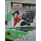 Consola Sega16 Bit Megakey Super Completa Incluye 10 Juegos