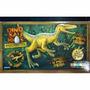 Dinosaurios Maqueta Para Armar Mdf Autoadhesivas Velocirapto