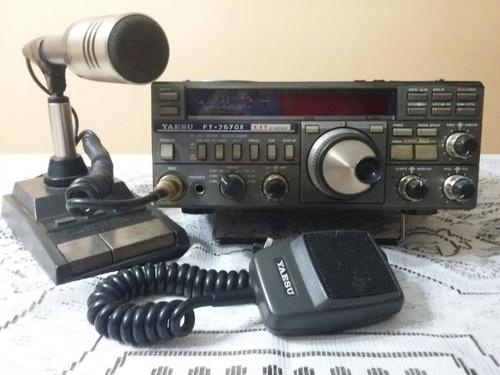 Equipo Completo Hf Radioaficionado Yaesu 757