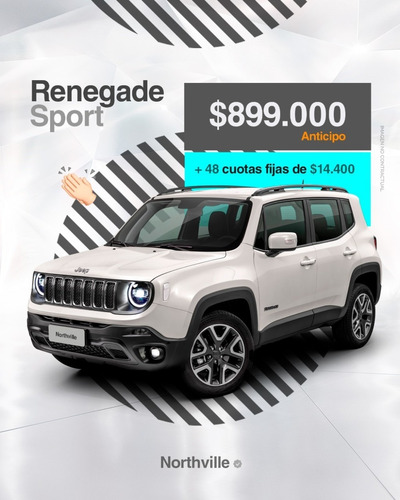 Jeep Renegade Sport At 0km ( Ploteo Opcional )