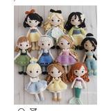 15 Patrones Princesas Amigurumis Crochet Coleccion Completa